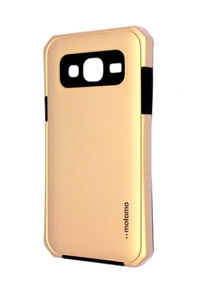 Pouzdro MOTOMO Samsung J310 Galaxy J3 2016 zlaté