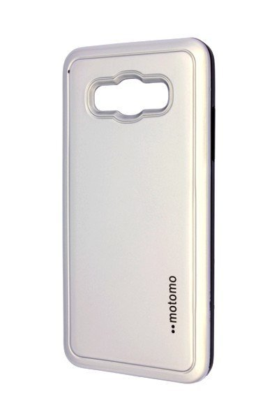 Pouzdro MOTOMO Samsung J510 Galaxy J5 2016 stříbrné