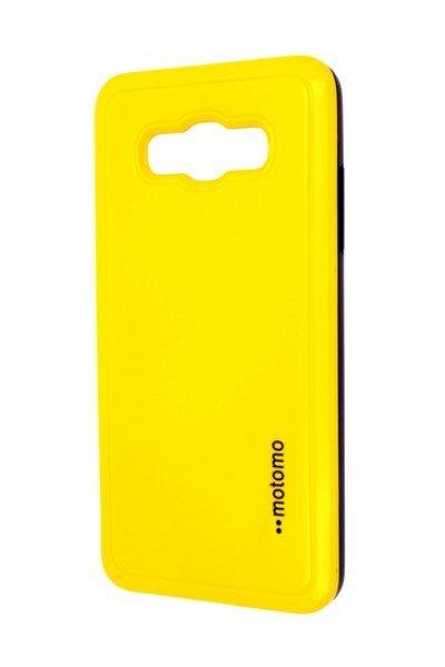 Pouzdro MOTOMO Samsung J510 Galaxy J5 2016 žluté