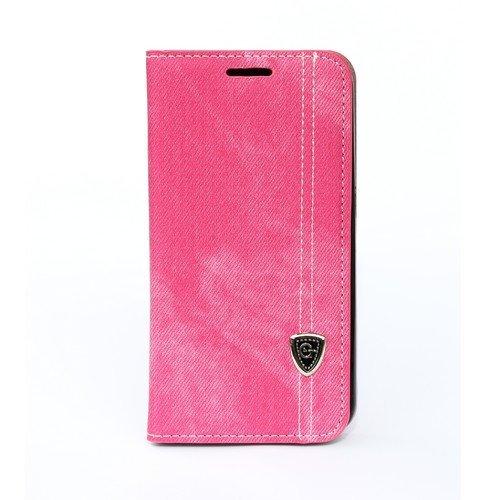 Pouzdro typu kniha pro Samsung G360 Galaxy Core Prime růžové