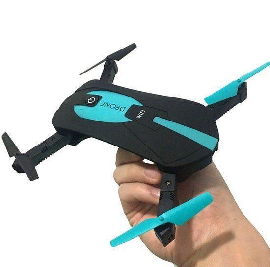 RC Dron mini skládací JY018 WIFI HD 360
