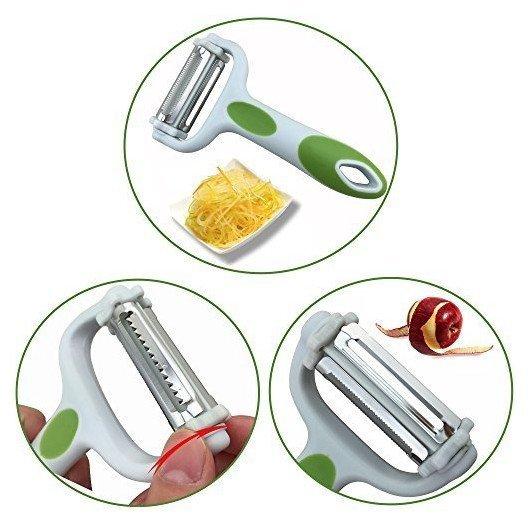 Rotační multifunkční škrabka na zeleninu