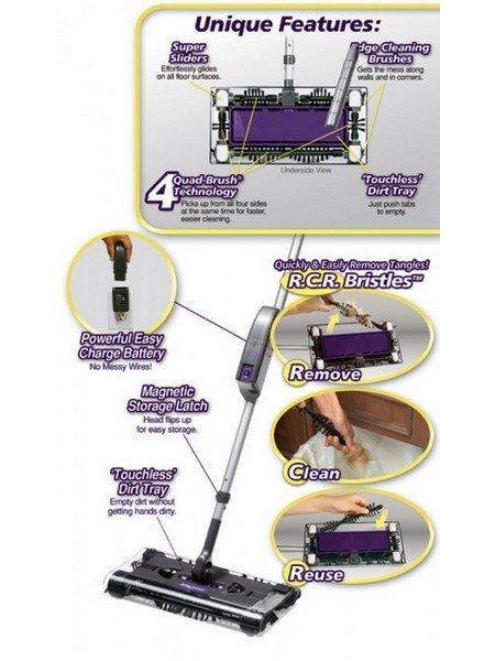 Swivel Sweeper MAX elektrická metla