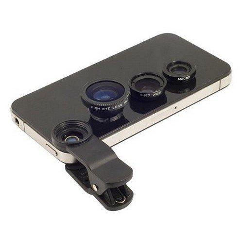 Univerzální objektiv - čočka na mobil 3v1
