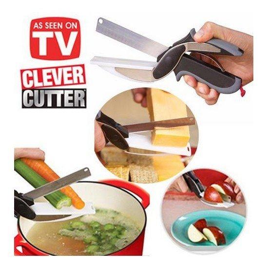Víceúčelové nůžky Clever Cutter 2v1