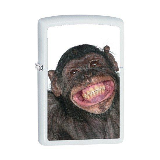 ZIPPO zapaľovač 26606 Monkey Grin