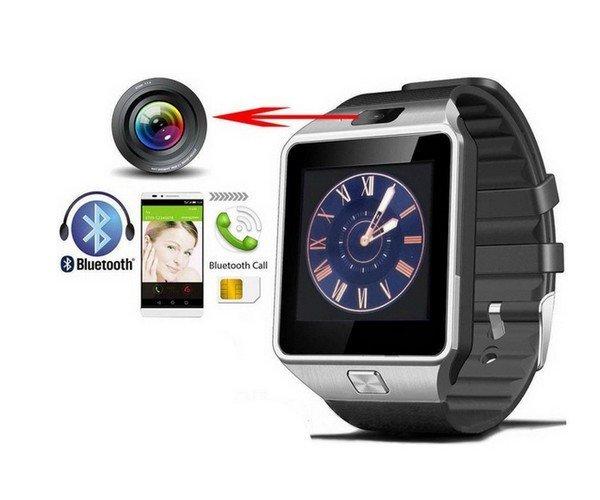 Inteligentní hodinky Erenbach Smartwatch DZ09 Černá