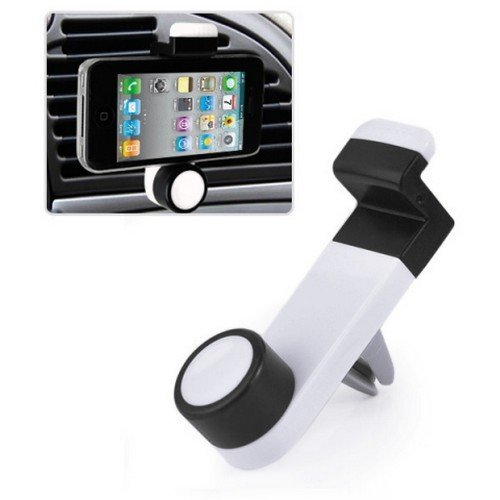 Univerzální držák mobilů do auta na mřížku Bílá