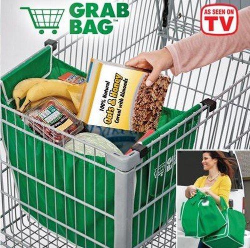 GRAB BAG taška do nákupného košíku 2ks