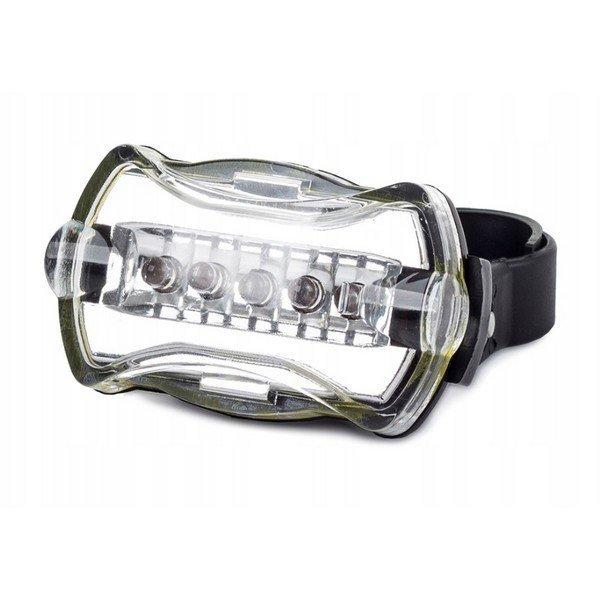 Přední světlo na kolo 5 LED