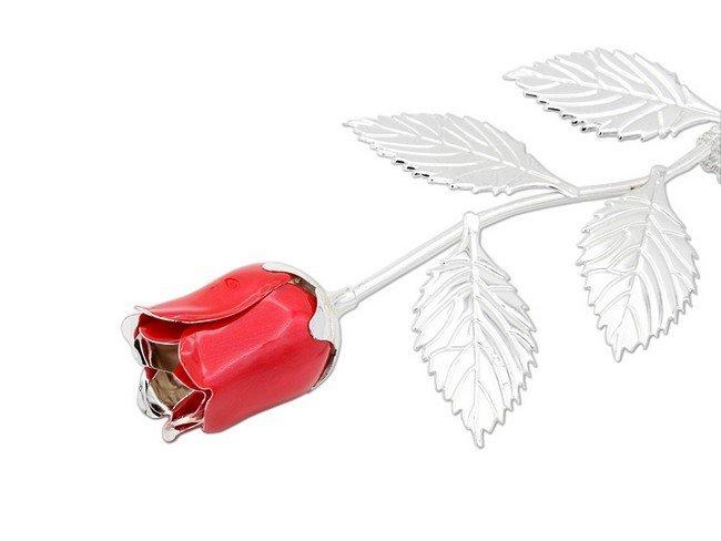 strieborna-ruza-cervena