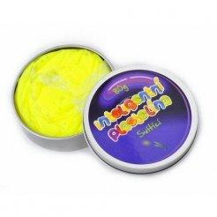 Inteligentní plastelína svítící žlutá