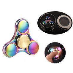 Kovový Fidget Spinner Magický Rainbow