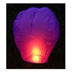 Lampión šťastia fialový