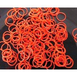 Loom Bands gumičky s háčikom na pletenie - oranžové