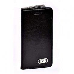 Luxusné púzdro typu kniha pre Huawei P8 čierne