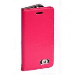 Luxusní pouzdro typu kniha pro Samsung Galaxy S6 Edge růžové