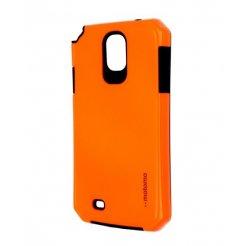 Púzdro Motomo Samsung Galaxy S4 reflexné oranžové