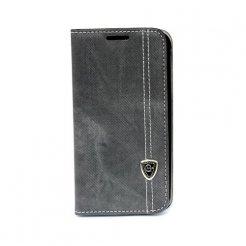 Púzdro typu kniha pre Galaxy S6 Edge čierne