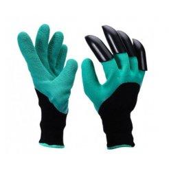 Záhradnícke rukavice so 4 pazúrmi
