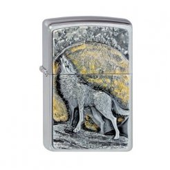 Zippo zapalovač 21803 Wolf at Moonlight
