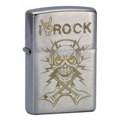 ZIPPO zapaľovač 21860 Skull Rock