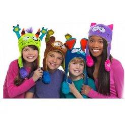 Čiapky pre deti s pohyblivými uškami
