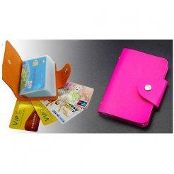 Kožené puzdro na kreditné karty