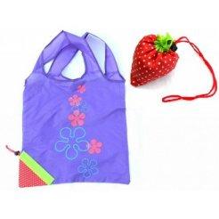 Skladacia nákupná taška Jahôdka