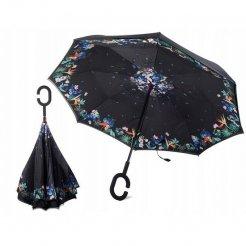 Obrácený deštník Květiny