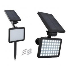 Záhradný solárny 48 LED reflektor LS5356