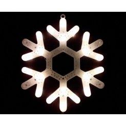 Vianočná LED dekorácia Vločka 29 cm