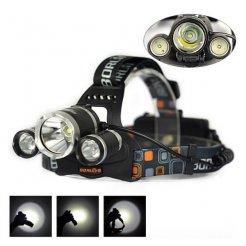 Čelovka LED-Zoom 3x CREE XM-L T6