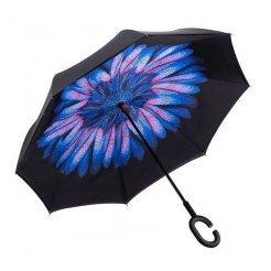 Obrácený deštník Květ s kapkami