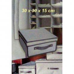 Skladací úložný box 30 x 30 x 15 cm