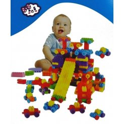 Detské plastové kocky 500 ks