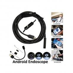 Endoskop inšpekčná kamera Android USB 5 m 5.5mm