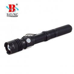 USB svietidlo Bailong W557, LED typu XM-L3 U3 + USB nabíjačka