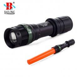 BAILONG taktická baterka ZOOM CREE XML-T6 BL-8455