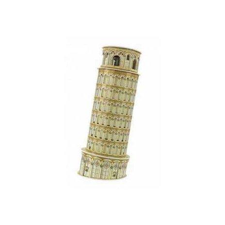 3D puzzle - Šikmá věž 10 x 10 x 26