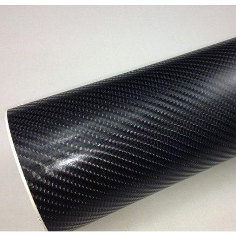 4D karbonová fólie s AIR FREE - černá (š.1,52m)