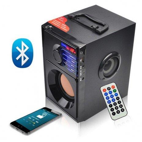 Kompaktný bluetooth stereo systém BOOMBOX BT reproduktor MP3 + USB + SD + radio