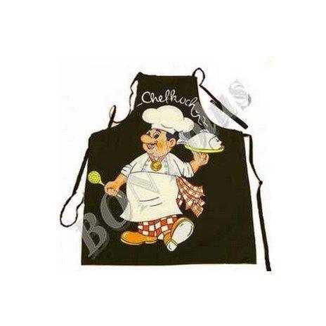 Kuchyňská zástěra Šéf kuchař