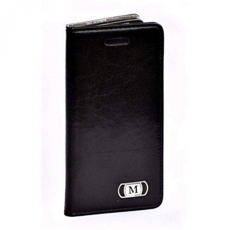 Luxusné púzdro typu kniha pre Samsung Galaxy S6 čierne