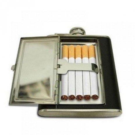 Ploskačka veľká s púzdrom na cigarety