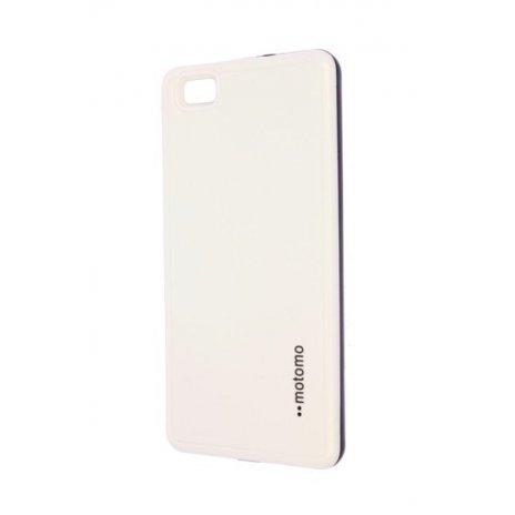 Púzdro Motomo Huawei P8 Lite biele