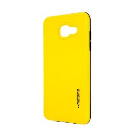 Púzdro Motomo Samsung A510 Galaxy A5 2016 žlté