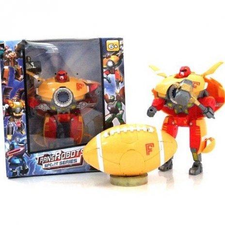 ROBOT Transformers 2v1 - ragby míč