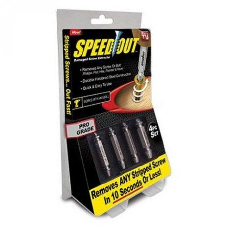 Šroubovák SpeedOut vytahovač zalomených šroubů a vrutů