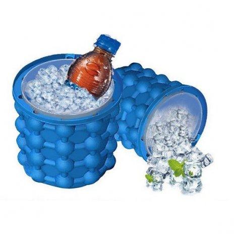 Multifunkčná silikónová nádoba na výrobu ľadu